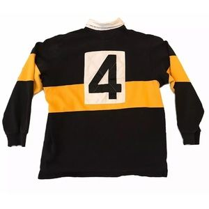 LG Vintage Ralph Lauren Sport Polo Rugby number